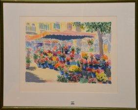 "Charles Penny, German Born 1952, ""flower Store #1"","