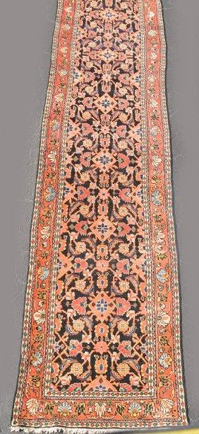 Persian Hamadan Runner, Approx. 3feet Wide X 13feet
