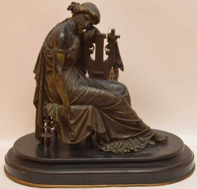Eugene Laurent (french, 1832-1898) Bronze Sculpture Of