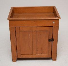 """American Pine & Poplar Diminutive Dry Sink 27""""h X 26""""w"""