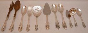 11 Wallace Sterling Grand Baroque Serving Pieces