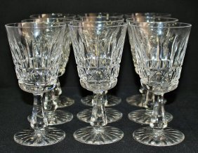Waterford Cut Crystal 'kenmare' Water Goblets