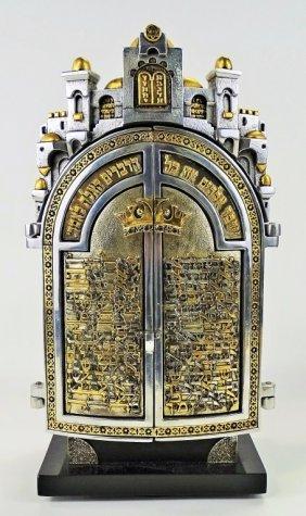 Frank Meisler Torah Shrine Box
