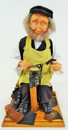 Hasidic Shoemaker Cobbler Figurine
