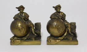 Jennings Brothers Christopher Columbus Book Ends