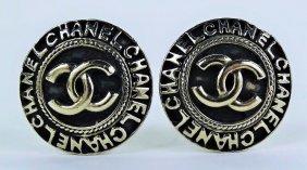 Vintage Chanel Ladies Costume Earrings