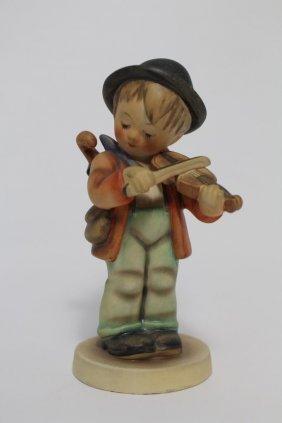 "M.j. Hummel/goebel Figure ""boy Playing Violin"""
