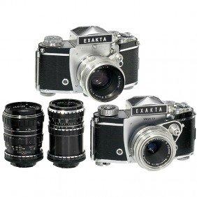 Exakta Varex IIa, IIb And 4 Lenses