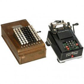 """Comptometer"" And ""Remington Adder"""