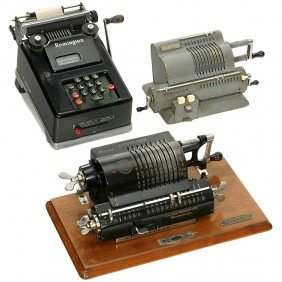 3 Calculating Machines