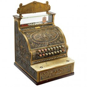 "Cash Register ""National Model 325-SH"", C. 1910"