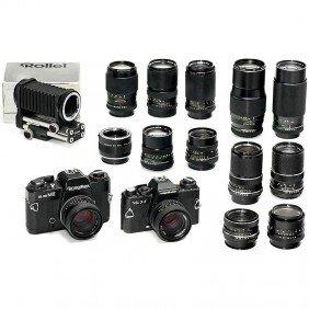 SL 35 ME, VSL 3-E And 11 Lenses