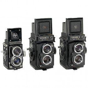 3 TLR Cameras From Japan