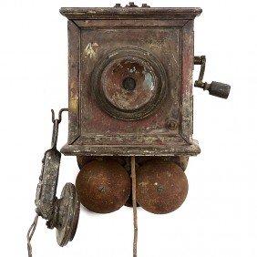 German Wall Telephone, C. 1902