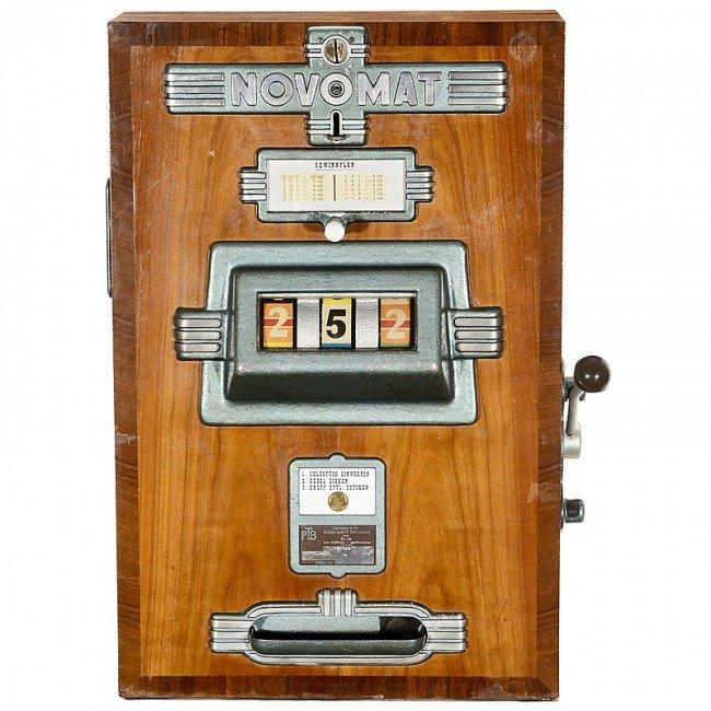 Antique german slot machine casino marienbad restaurant
