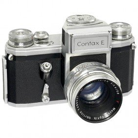 Contax E With Light Meter, 1956