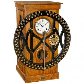 """Time Stamp Clock """"Dey Time Register"""", C. 1930"""