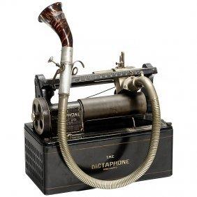 """Dictating Machine """"The Dictaphone: Model 10"""", C. 19"""