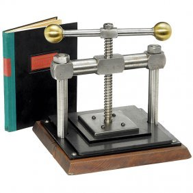 Copy Press With Copying Book