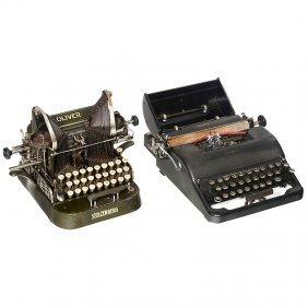 """""""Corona Silent Typewriter Telegraph No. 37"""""""