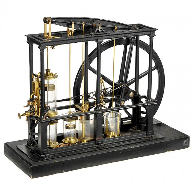 719 physical demonstration model of a watt type lot 719