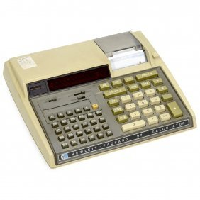 """hewlett Packard Hp-97"" Desktop Calculator, 1976"