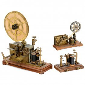 2 Telegraphs And 1 Relay