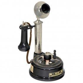 """Beam's 1904 """"100 Digit"""" Dial Phone"""
