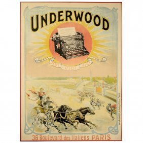 """underwood – Veni, Vidi, Vici"" Poster, 1900"