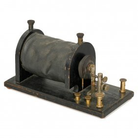 French Induction Coil, C. 1900