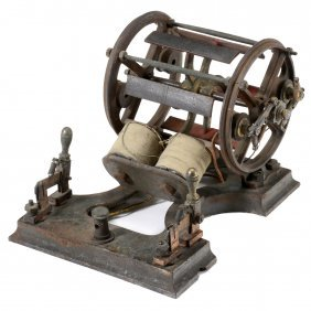 Early Electric Motor According To Moritz Von Jacobi, C.