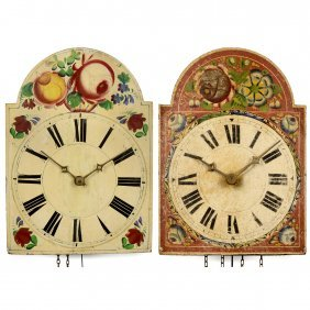 2 Black Forest Shield Wall Clocks