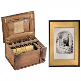 "Miniature ""serinette"" Barrel Organ, C. 1860"