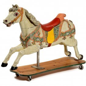 Early Carousel Horse, C. 1900