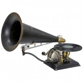 Columbia Model Au Gramophone, 1904 Onwards