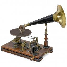 Emile Berliner Style Gramophone, C. 1920