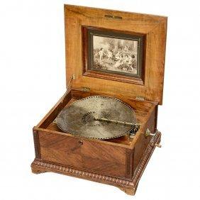 Polyphon No. 43b Disc Musical Box, C. 1905