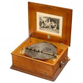 Imperial Symphonion Disc Musical Box, C. 1895