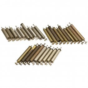 29 Interchangeable Cylinders For Swiss Musical Boxes,