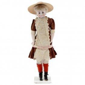 Belton-type Bisque Doll By Simon & Halbig, C. 1890s