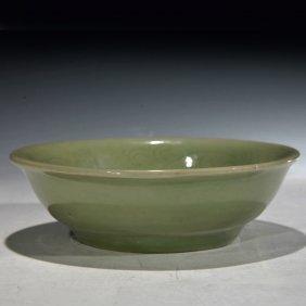 Chinese Anitique Longquan Celadon Bowl