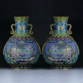 Chinese Cloisonne Cloisonne Vase