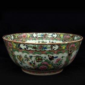 Chinese Famille Rose Kwon-glazed Bowl