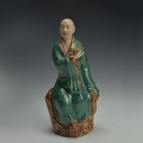 Qing Dynasty Chinese Porcelain Figure