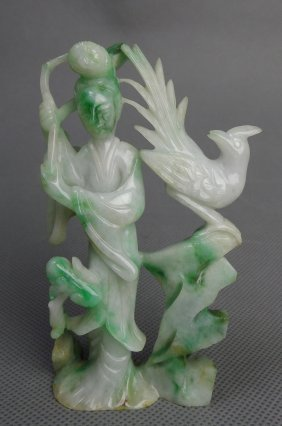 Jadeite Fairy Decoration