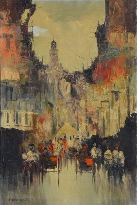 Vladimir Lazarev (1904- 1984) Russia - France - Usa