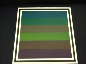 Sol Lewitt Limited Edition Colored Print