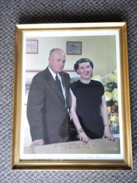 Eisenhower Photo With Autograph