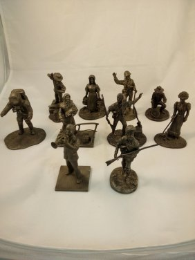 Pewter Historical Figurines