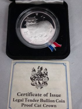 Silver Coin, Isle Of Man